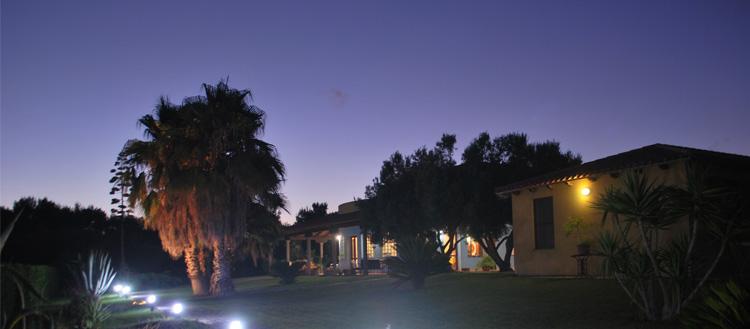 Listini Agriturismo Sabori Antigu - Vista notturna